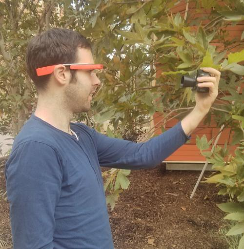 Google Glass app noninvasively analyzes plant health in seconds