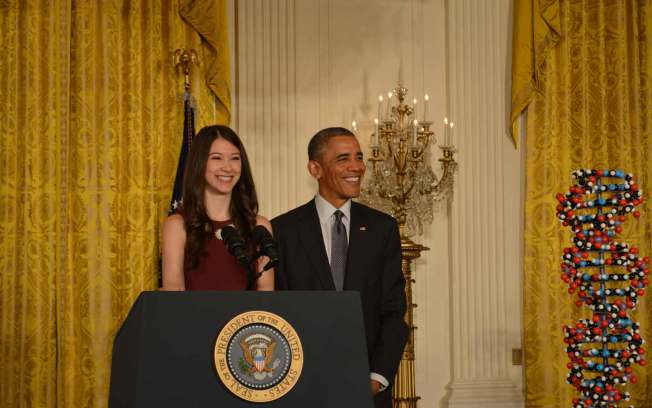 White House Recognizes New York Teen's Cancer Research