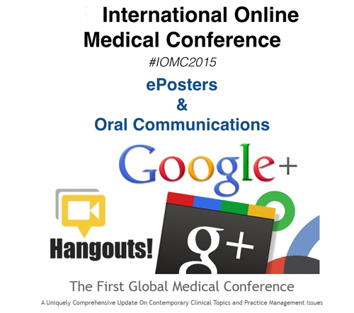 Attention!  First International Online Medical Hangout Conference Sept 10-13:  Register to Give one!